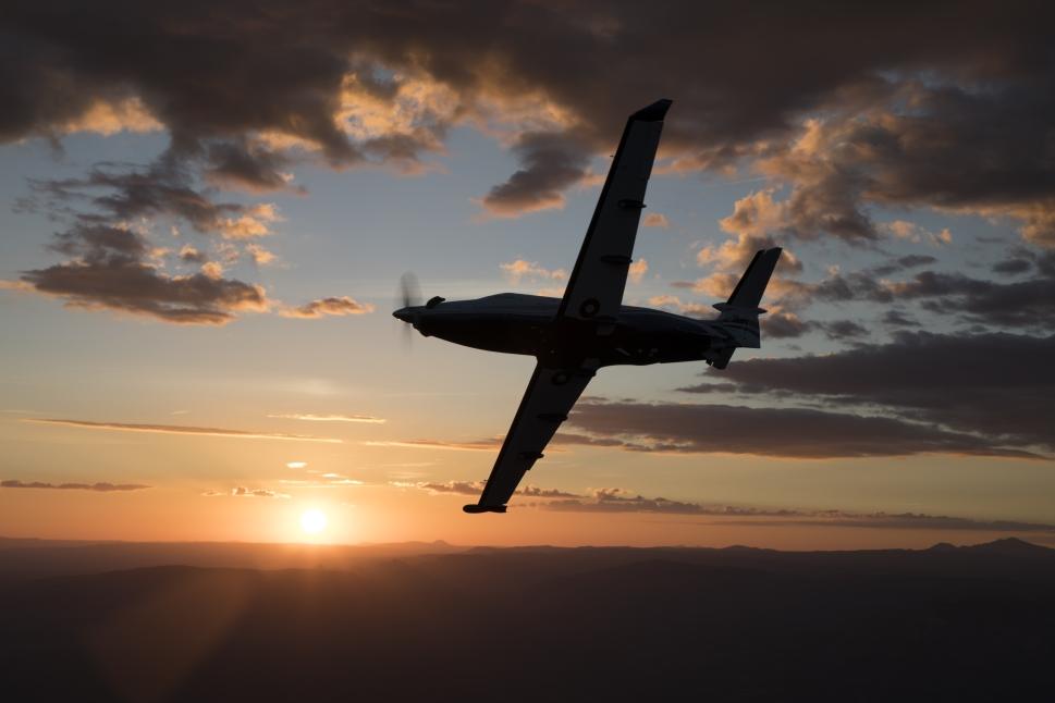 Pilatus PC-12 NGX single-engine turboprop aircraft