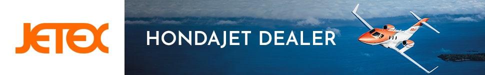 Jetex HondaJet Banner