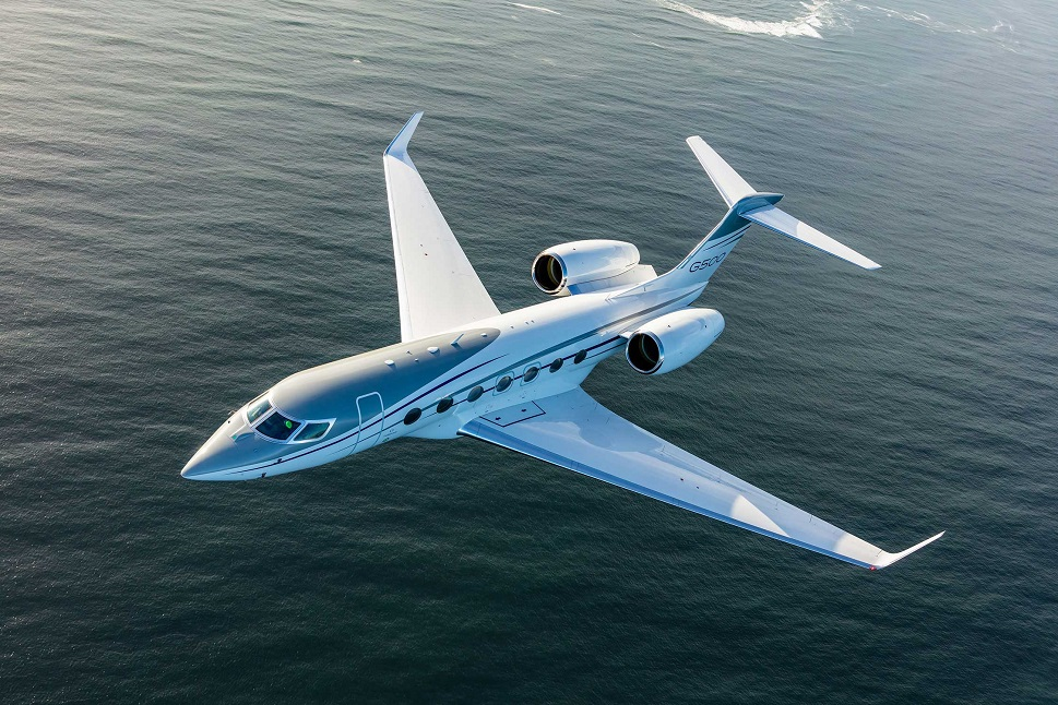 Gulfstream's G500 large jet helped boost shipments