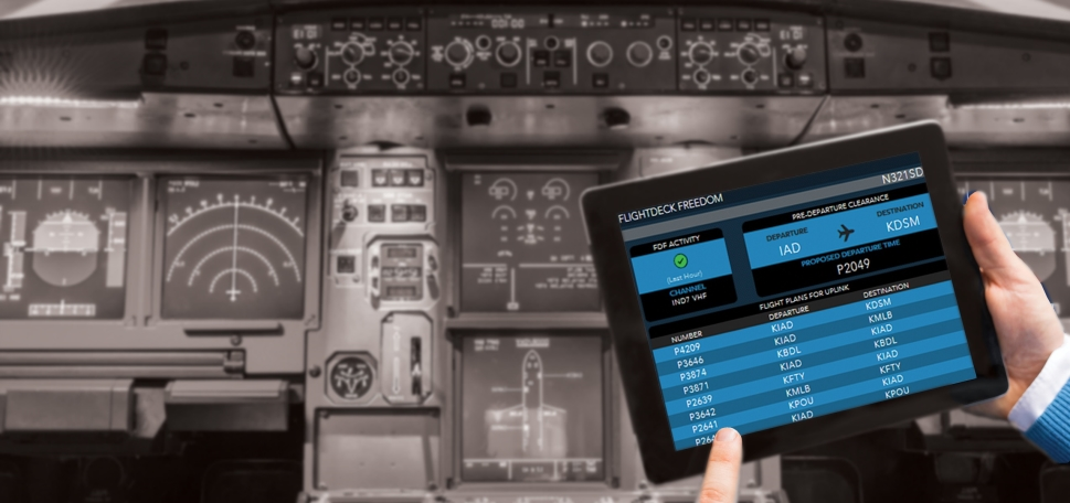 Satcom Direct activated FlightDeck Freedom on over 2000 aircraft