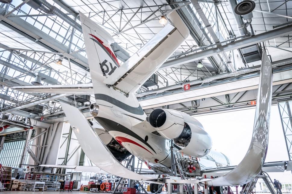 Dassault Falcon 6X Under Construction in Bordeaux
