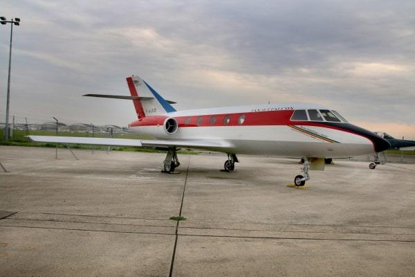 Dassault Falcon on display