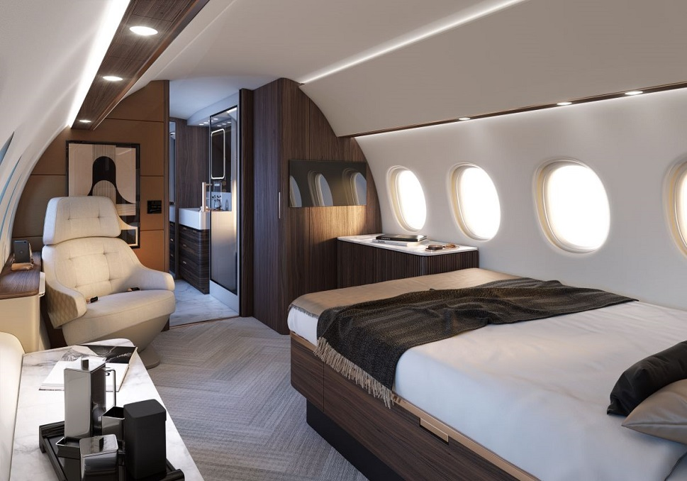 Dassault Falcon 10X Main State room