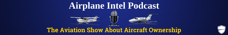 Airplane Intel Podcast Banner
