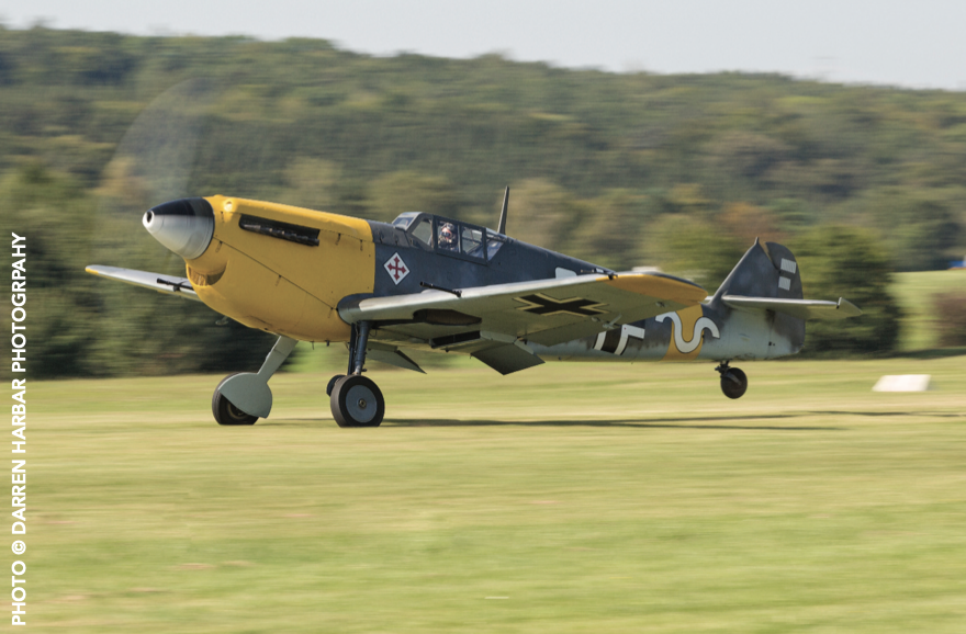 Classic German aircraft taking off