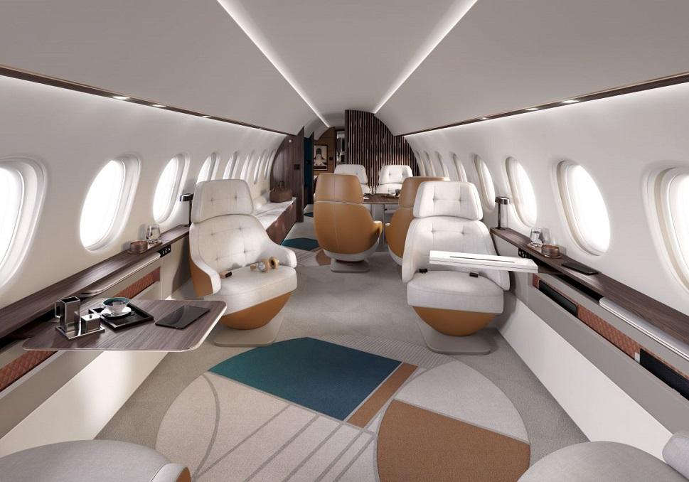 Dassault Falcon 10X Main Cabin