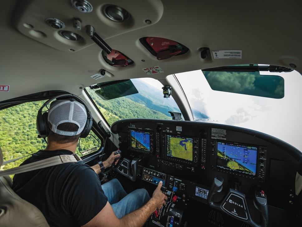 Daher Kodiak 100 series III cockpit