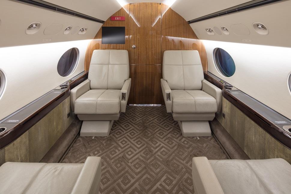 Gulfstream forward cabin section in 2020