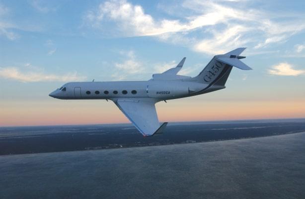 G450 In-flight