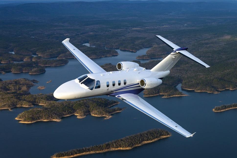 Cessna Citation M2 Private Jet in-flight
