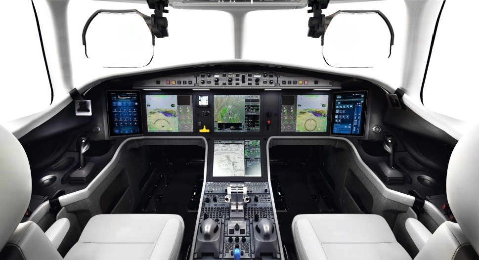 The Dassault Falcon 6X will utilize the EASy III avionics system