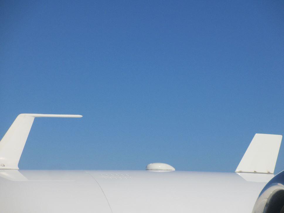 AeroWave antenna mounted to a Cessna Citation Mustang