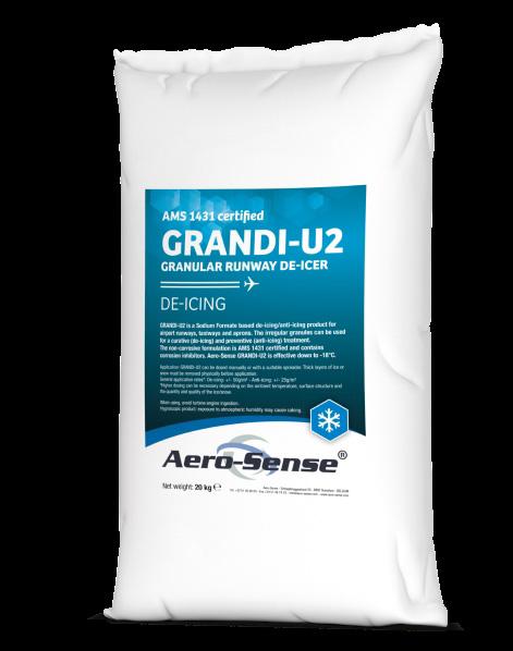 Aero-Sense Grandi-U2 Runway De-icer