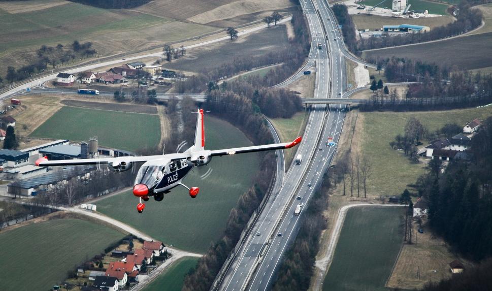 German Police Hessen's Vulcanair P88 Observer aircraft
