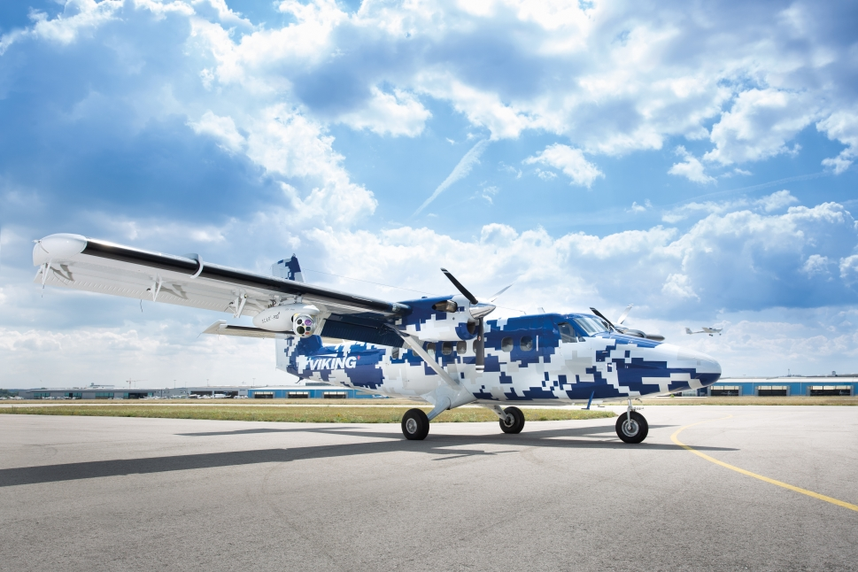 Viking Twin Otter Guardian 'missionized' with Airborne LINX