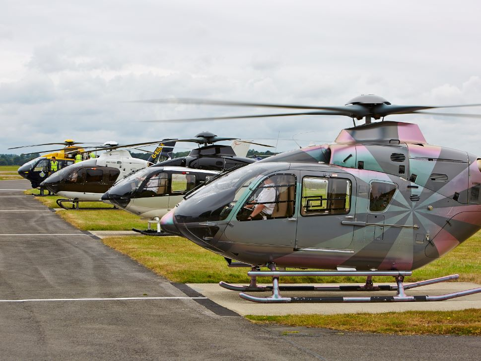 Airbus H125 Helicopter Lineup
