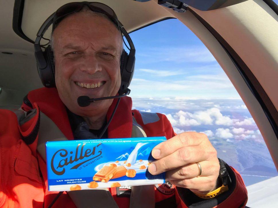 Emergency Food Supplies Aboard the Cirrus SR22 Trans-Atlantic Flight