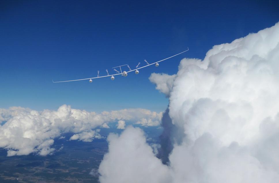 Antares A2 Flies in Blue Skies