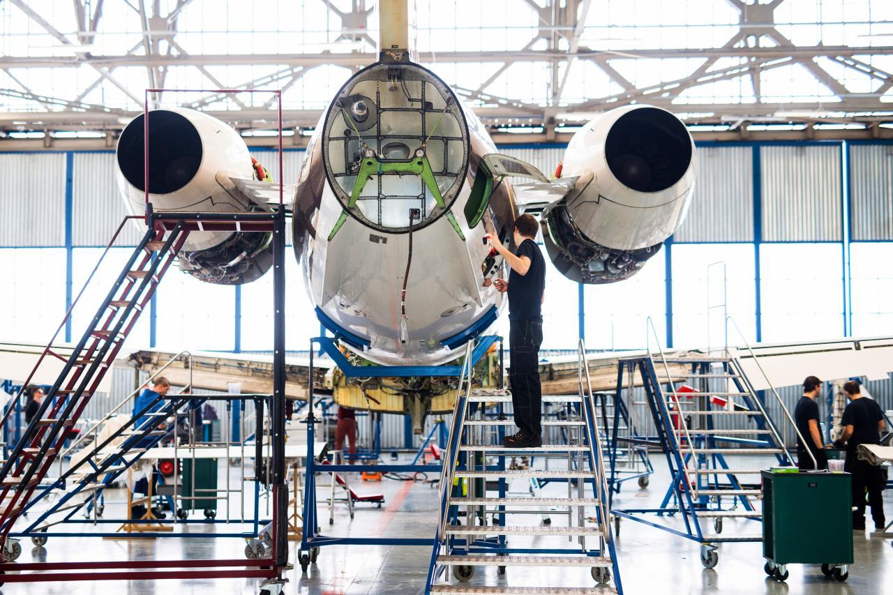 ABS jets Aircraft maintenance