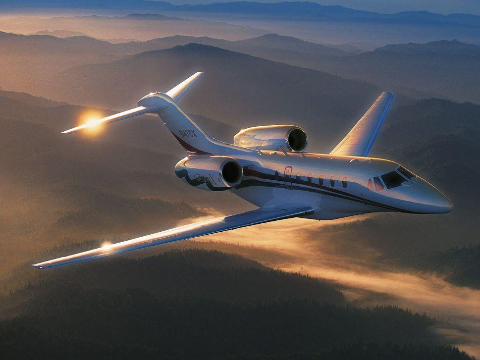 Cessna Citaiton X Private Jet