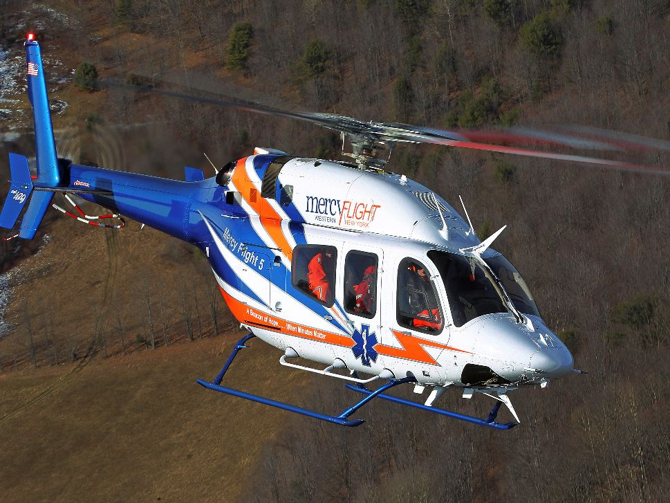 Bell 429 Turbine Helicopter