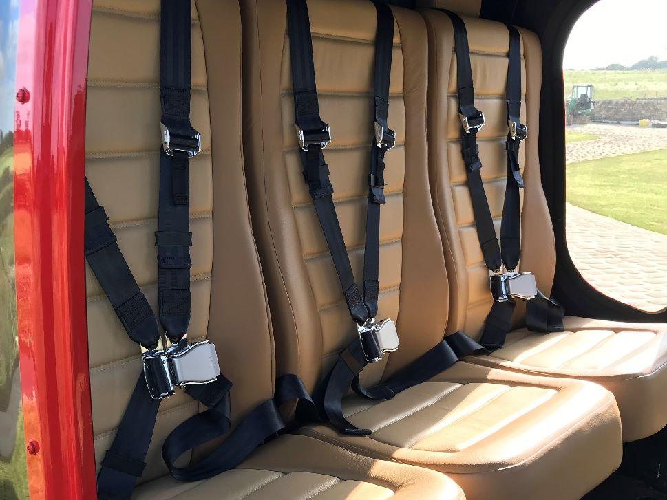 Bell 505 JetRanger X Cabin
