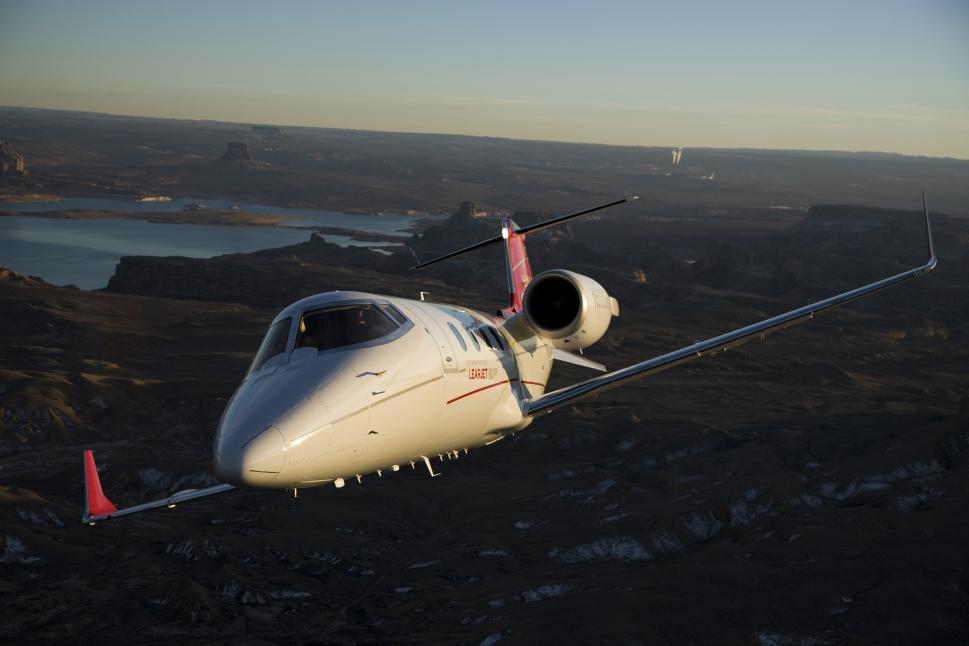 Bombardier Learjet 60XR Private Jet