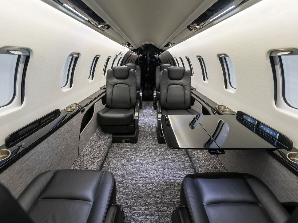 Bombardier Learjey 75 Private Jet Cabin Refurbishment