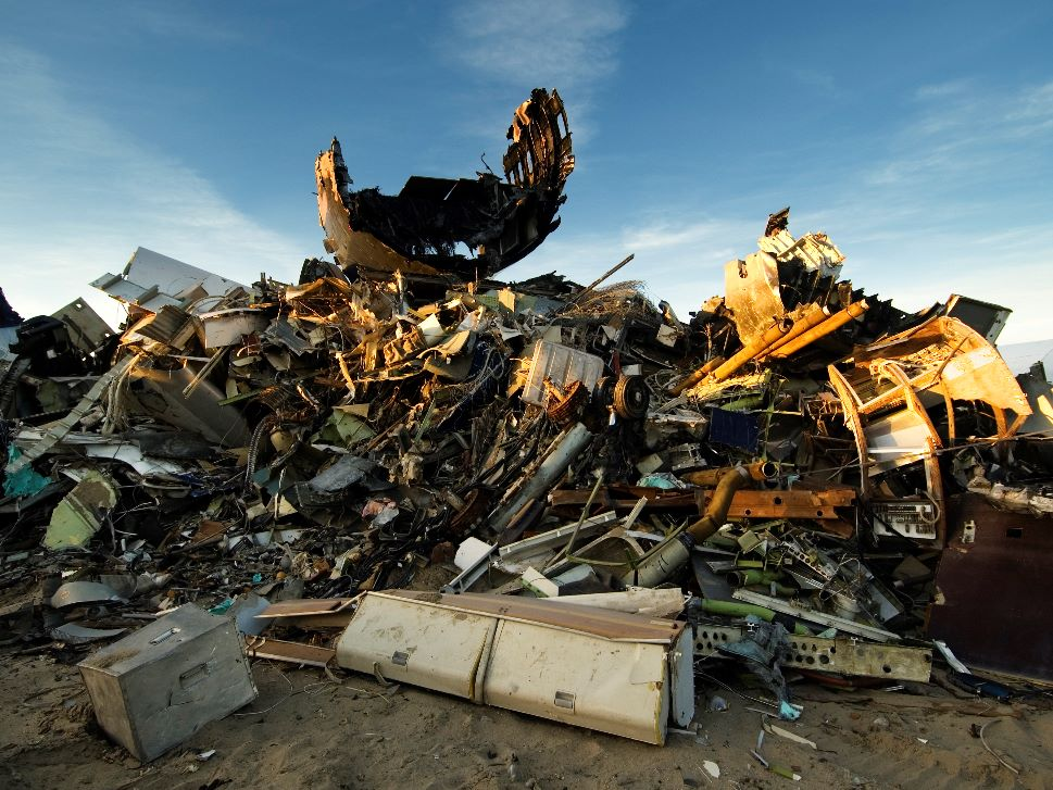 How much is your business aircraft worth in scrap