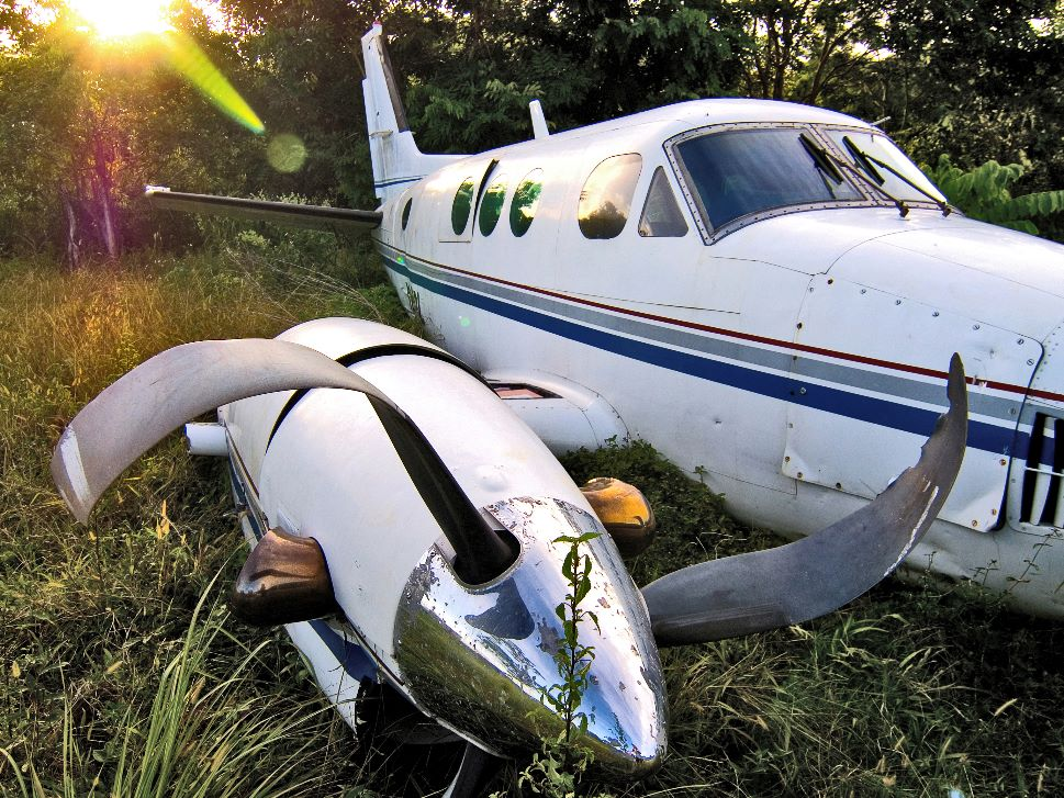 What is a business aircraft's scrap value