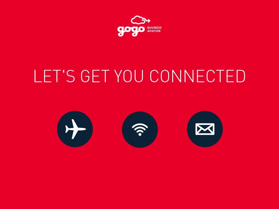 Business Gogo Air Solution Finder