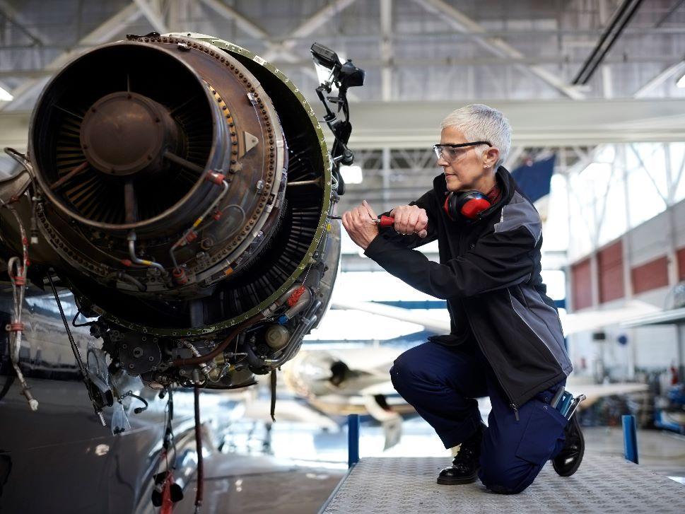 Private Jet MRO shop technician