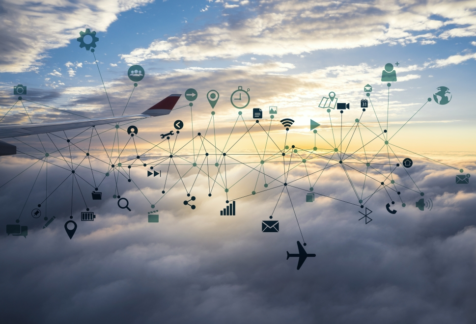 Business jet cabin connectivity costs
