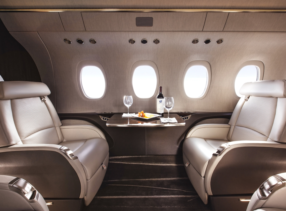 Cessna Citation Longitude Cabin Photo
