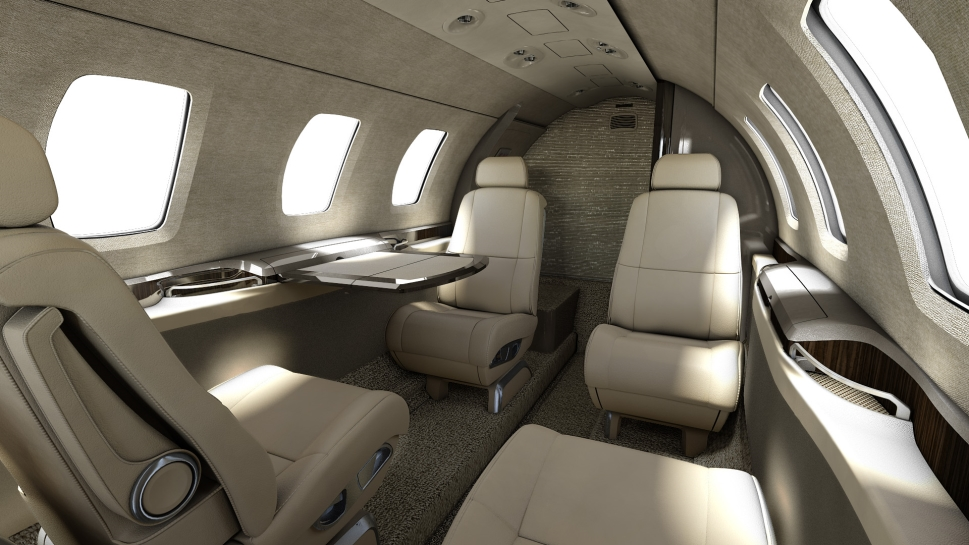 Cessna Citation M2 Cabin Photo