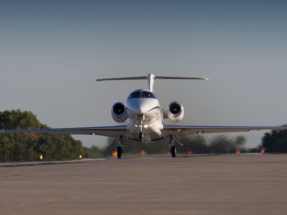 Cessna Citation Private Jet Take-Off