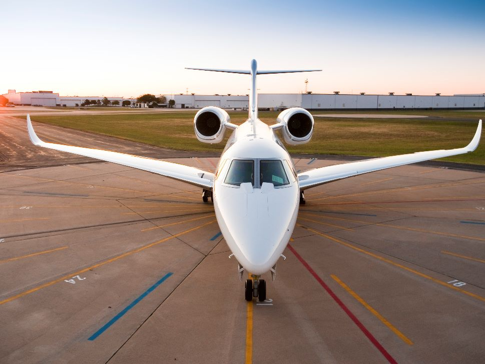 Cessna Citation X at the Airport