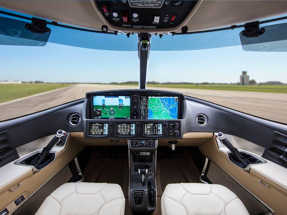 Cirrus SF50 VisionJet Flight Panel