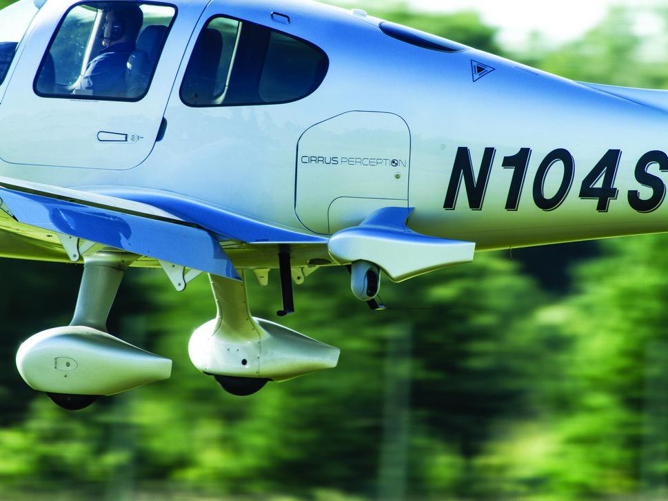 Cirrus Perception Camera Detail In-Flight