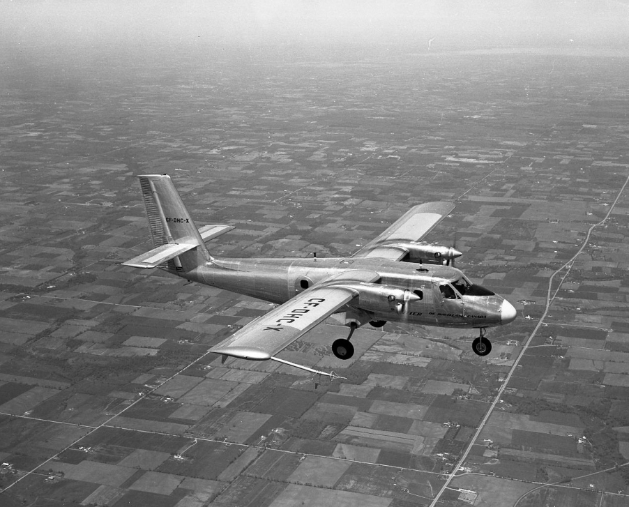 DHC-6 Twin Otter Airliner