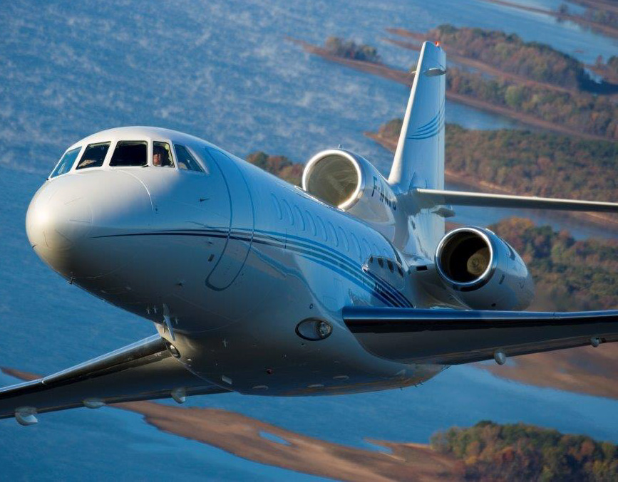 Dassault Falcon 900B Private Jet
