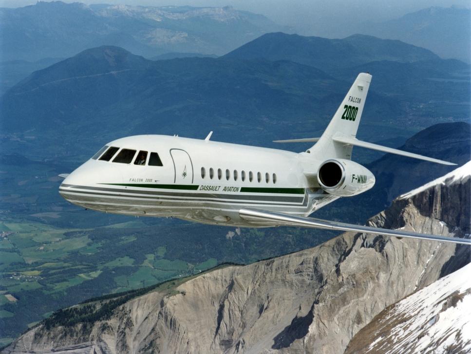 Dassault Falcon 2000 Private Jet