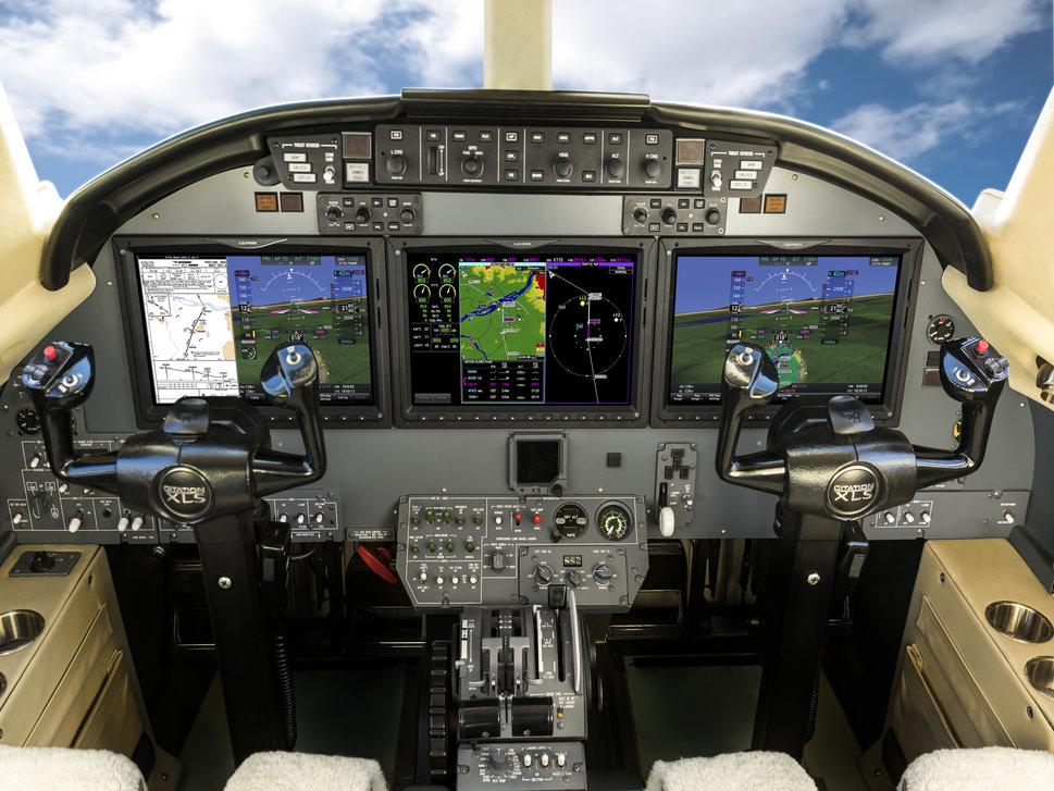 Elliott Aviation Citation Excel G5000 Flight Deck