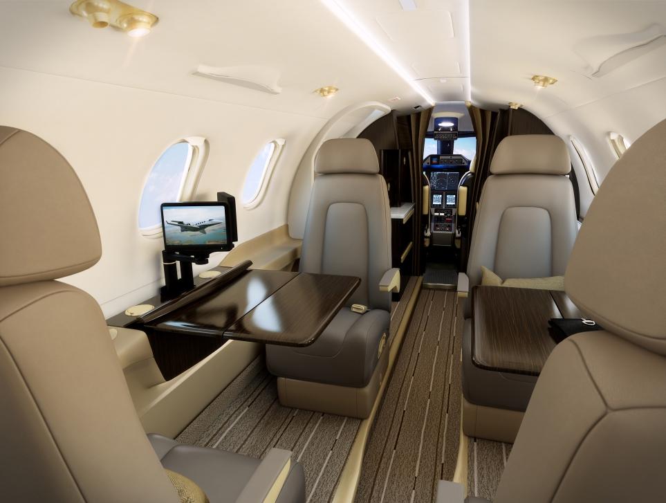 Embraer Phenom 300 Cabin Lighting