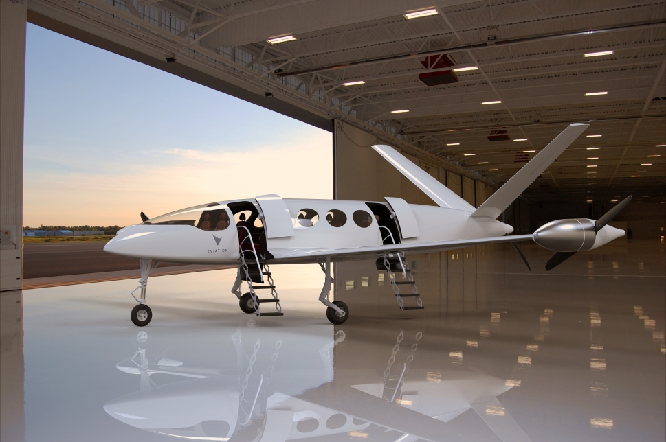 Eviation Alice Electric Aircraft