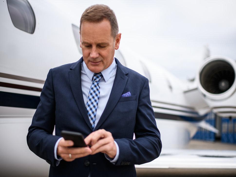 Executive Jet Cabin Connectivity