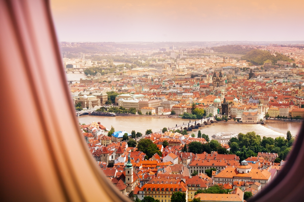Flying to Prague by Private Jet