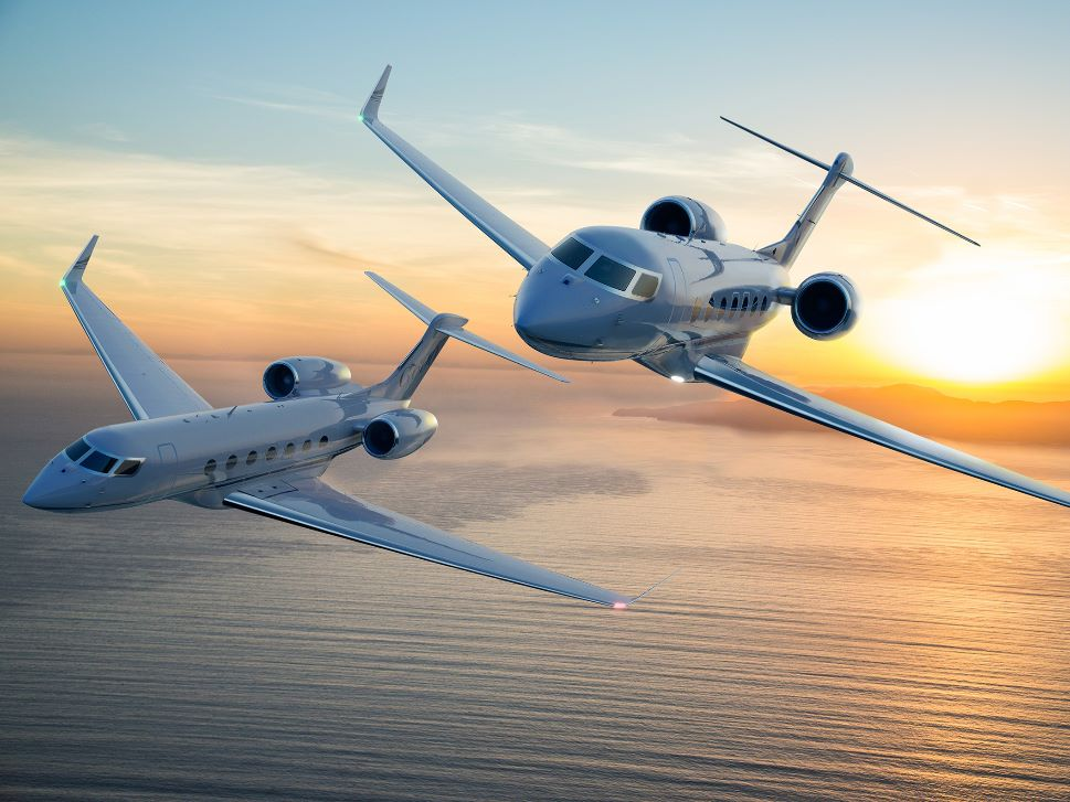 Gulfstream G500 and G600 business jets