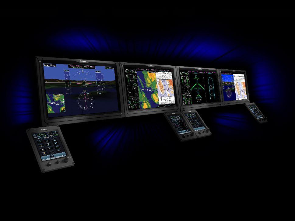 Garmin Flight Panel for Retrofit in Business Jet