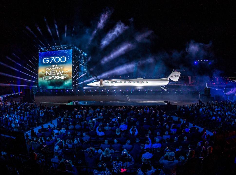 Gulfstream G700 Public Launch Event
